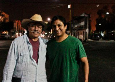 Omar Leyva and Edward James Olmos
